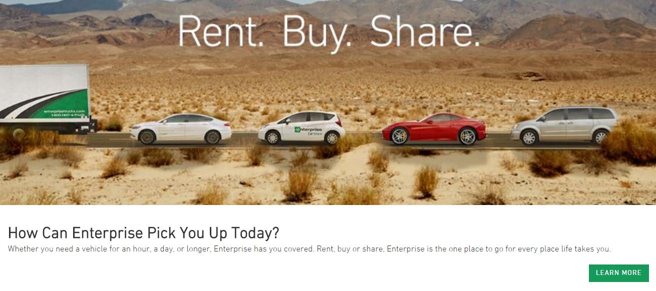 Enterprise Rental Drop Off At Car Repair
